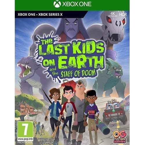 The Last Kids On Earth and The Staff Of Doom Xbox One Game